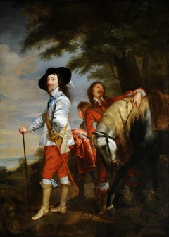 King Charles I (1600-1649) in the Hunting Field (after Van Dyck)