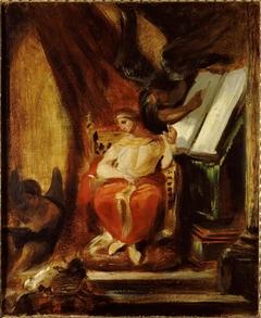 L'empereur Justinien composant ses Institutes
