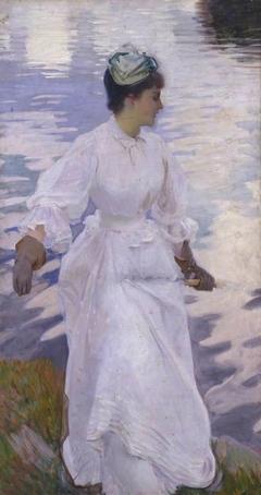 Lady Fishing - Mrs Ormond