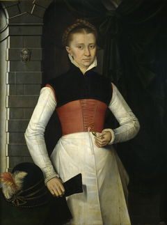 Lady with a Yellow Flower
