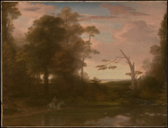 Landscape, American Scenery: Time, Afternoon, with a Southwest Haze