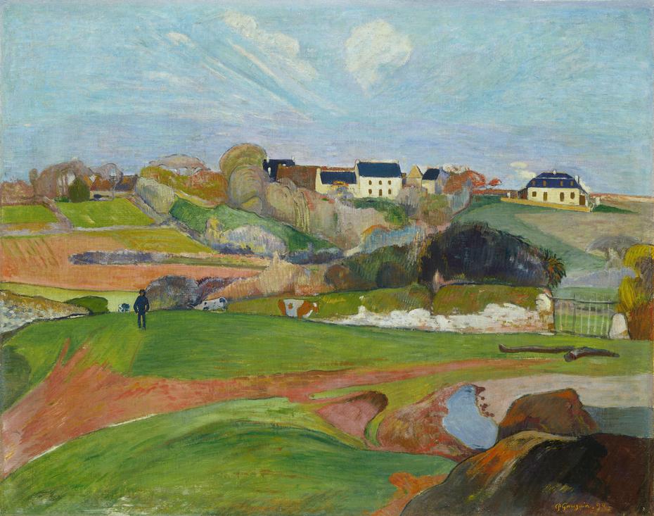 Landscape at Le Pouldu