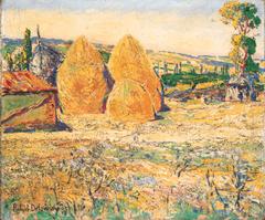 Landscape, Haystacks