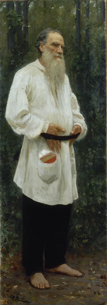Leo Tolstoy Barefoot