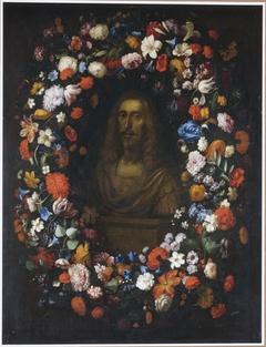 Leopold of Austria in flower garland