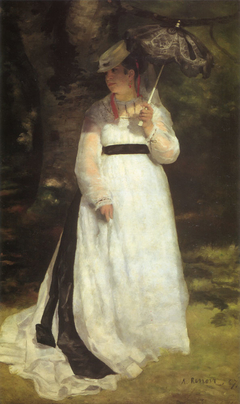 Lise with a Parasol