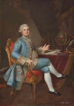 Louis-Stanislas-Xavier, comte de Provence (later King Louis XVIII, King of France) (1755-1824)
