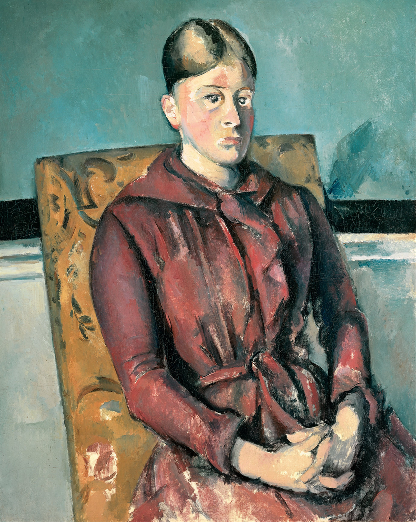 Madame Cézanne in a Yellow Chair