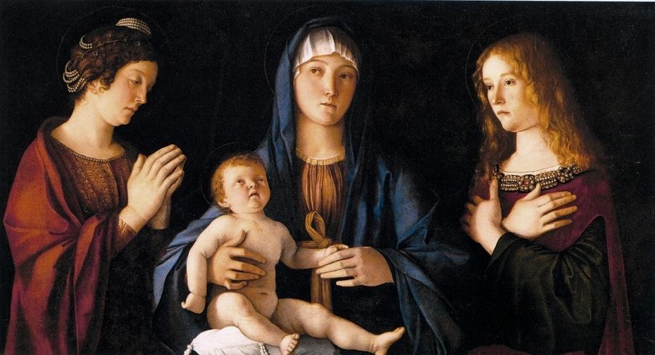 Madonna col Bambino tra le sante Caterina e Maria Maddalena