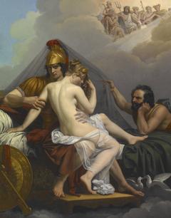 Mars and Venus Surprised by Vulcan