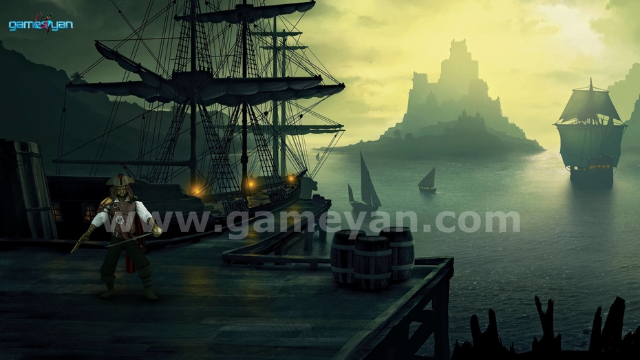 Morgan Pirates Character Modeling By game art outsourcing Studio