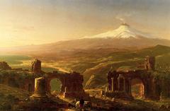 Mount Etna from Taormina