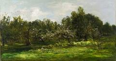 Orchard in Blossom (Les Pommiers en Fleur)