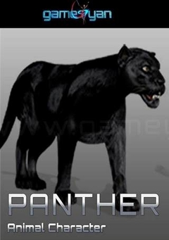 Panther Animal Character Animation