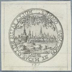 Penning op de Overtocht van Karel II in 1660