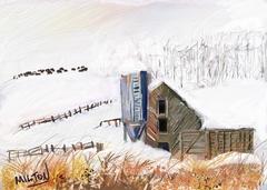 Piedmont Farm in Winter
