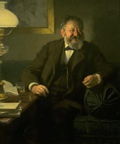 Portræt af Sophus Schandorph