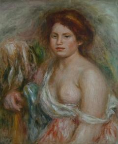 Portrait de modèle en buste