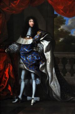 portrait en pied de Louis XIV