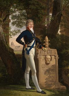 Portrait en pied du prince Augustus Frederick, duc de Sussex