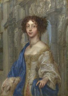 Portrait of a Woman as Saint Agnes