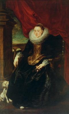 Portrait of a woman of the Vinck/Vincque family