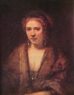 Portrait of a Young Woman in a Fantasy Costume