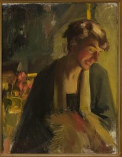 Portrait of Cecylia Marylska-Łuszczewska