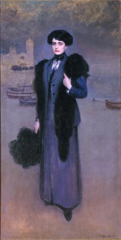 Portrait of Dolors Vidal