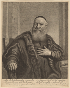 Portrait of Eleazer Swalmius