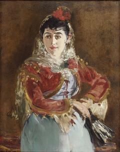 Portrait of Émilie Ambre as Carmen
