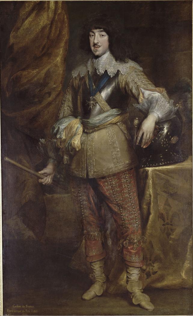 Portrait of Gaston de France