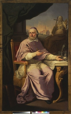 Portrait of Jan Stefan Giedroyc (d.1803), bishop of Vilnius
