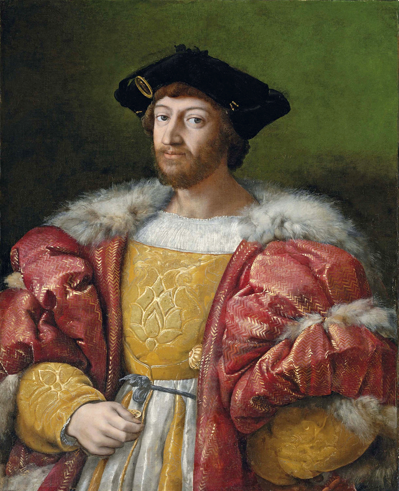 Portrait of Lorenzo di Medici, Duke of Urbino
