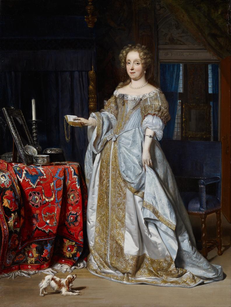 Portrait of Lucia Wijbrants (1638-1719)