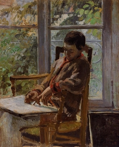 Portrait of Lucien Pissarro