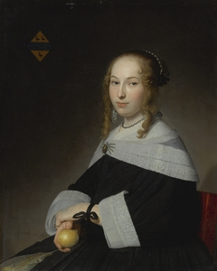 Portrait of Margaretha Dicx (1634-1697)