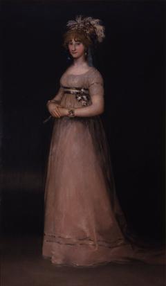 Portrait of María Luisa de Borbón y Vallabriga