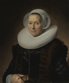 Portrait of Maritje Claesdr Vooght