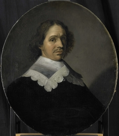Portrait of Paulus Verschuur, Served seven terms as Burgomaster of Rotterdam and also Director of the Rotterdam Chamber of the East India Company, elected 1651