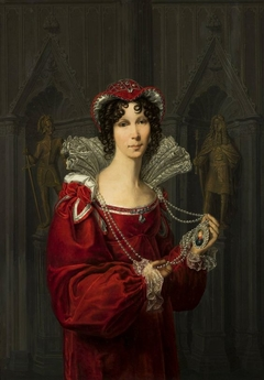 Portrait of Princess Wilhelmine of Prussia.
