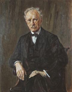 Portrait of Richard Strauss