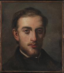 Portrait of the Painter Fritz Melbye (1826-69)