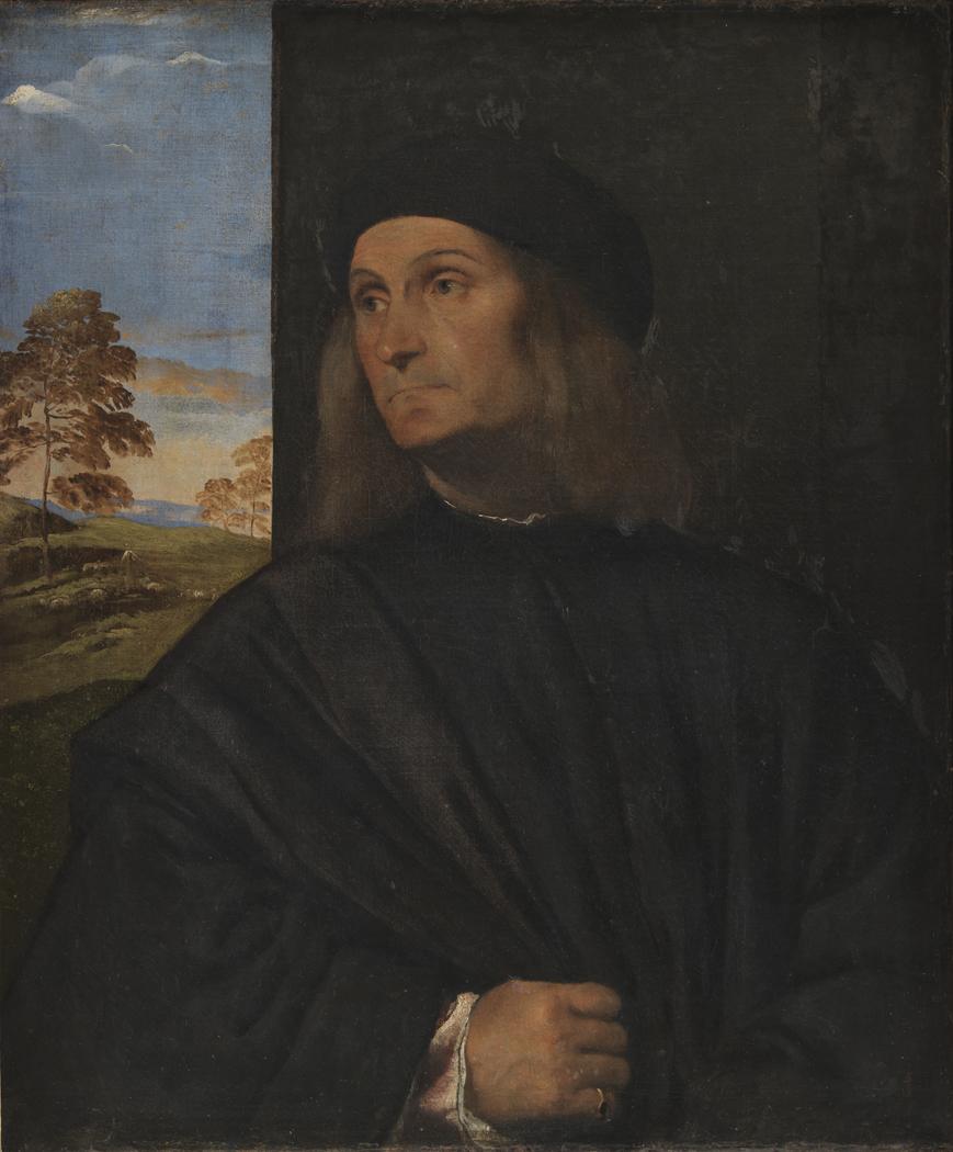 Portrait of the Venetian Painter Giovanni Bellini?