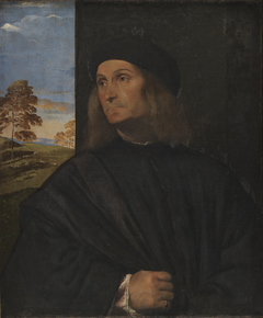 Portrait of the Venetian Painter Giovanni Bellini?