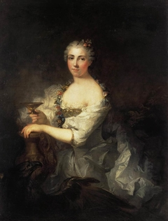 Portrait of Unknown Woman as Hebe
