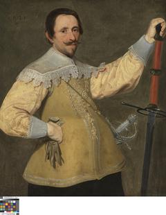 Portret van een deken van het Brugse Sint-Michielsgilde