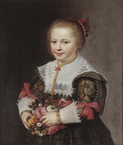 Portret van een meisje uit de familie Van Paffenrode