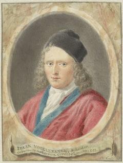 Portret van Isaac Vogelsanck