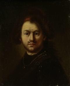 Portret van Rembrandt Harmensz. van Rijn